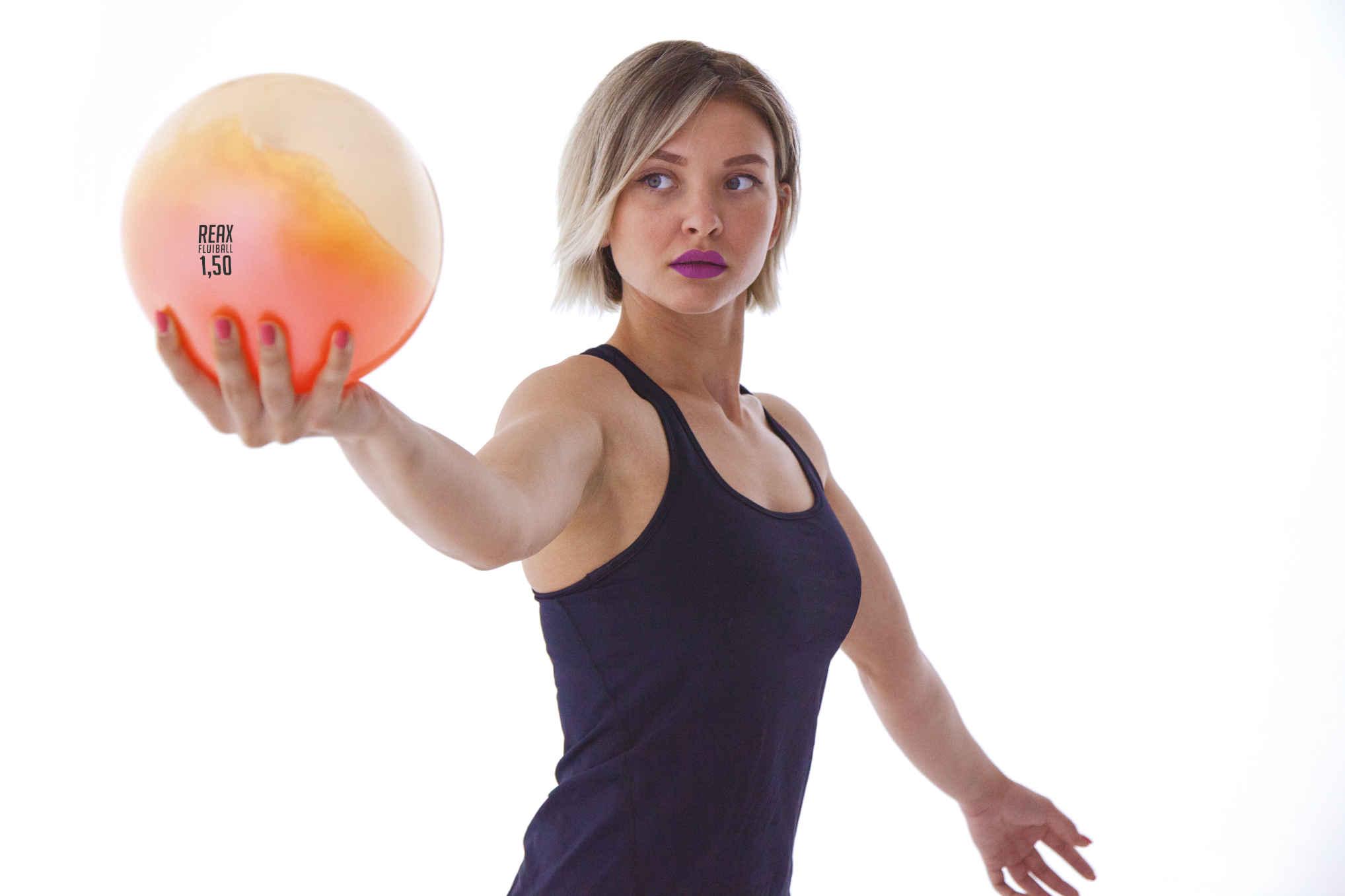 piłka do ćwiczeń z wodą