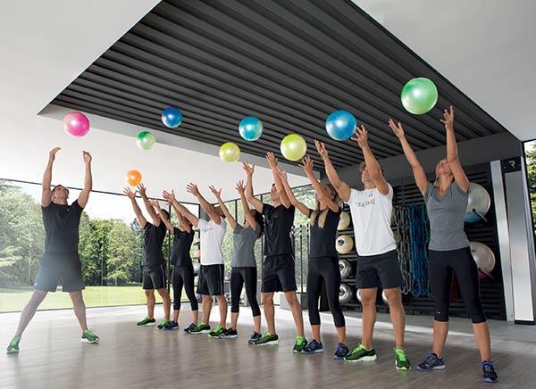 piłki fitness